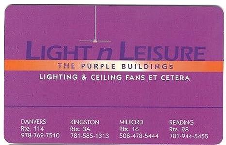 Light N Leisure Gift Card