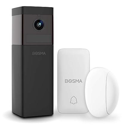 BOSMA Cámara de Seguridad Monitor de Seguridad Full HD WiFi ...