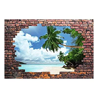 Wall26 - Tropical Beach and Palm Trees - Canvas Art Wall Decor - 66