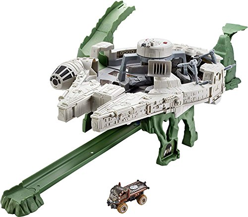 Hot Wheels Star Wars Millennium Falcon Playset (Hot Wheels Cars Stickers)