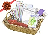 Chefs Set Gift Basket for the Cooking Enthusiast - 5 Piece Kitchen Utensil Cooking Gift Set