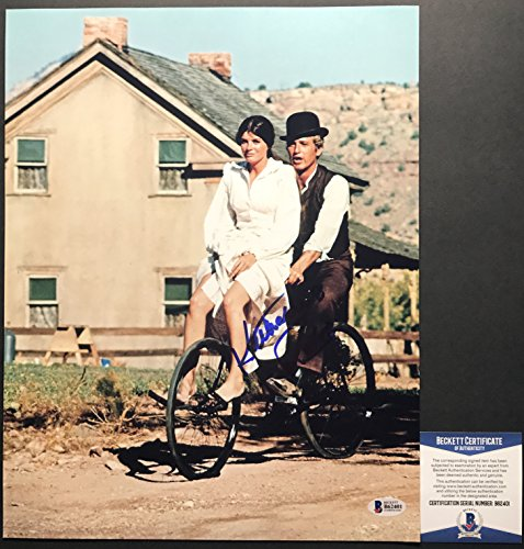 PAUL NEWMAN! Katharine Ross Signed BUTCH CASSIDY SUNDANCE KID 11x14 Photo - Tom Newman Ford