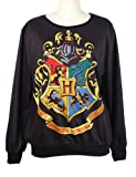 Mebarra Fashion Harry Potter Hogwarts Crest Pullover Sweater Sweatshirt