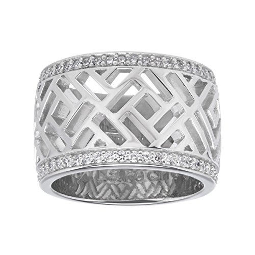 guy-laroche-openwork-ring-with-cubic-zirconia-in-sterling-silver-size-7