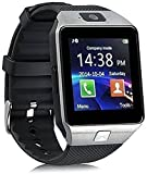 Oximus Dz09 Smartwatch With SIM SLOT, 32 GB MEMORY CARD SLOT and camera support (Black)