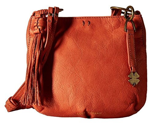 Lucky Brand Women's Athena Crossbody Terracotta Cross Body