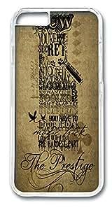 ICORER iPhone 6 Case The Prestige Unique iPhone 6 Case PC Hard Plastics Case Cover for iPhone 6 Transparent