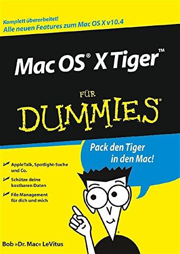 Mac OS X Tiger für Dummies