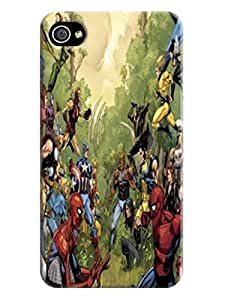 Kathryn L.McNamara First Design Funny TPU Stars (Marvel Avengers Captain America) Iphone 4S Hard Cover Case