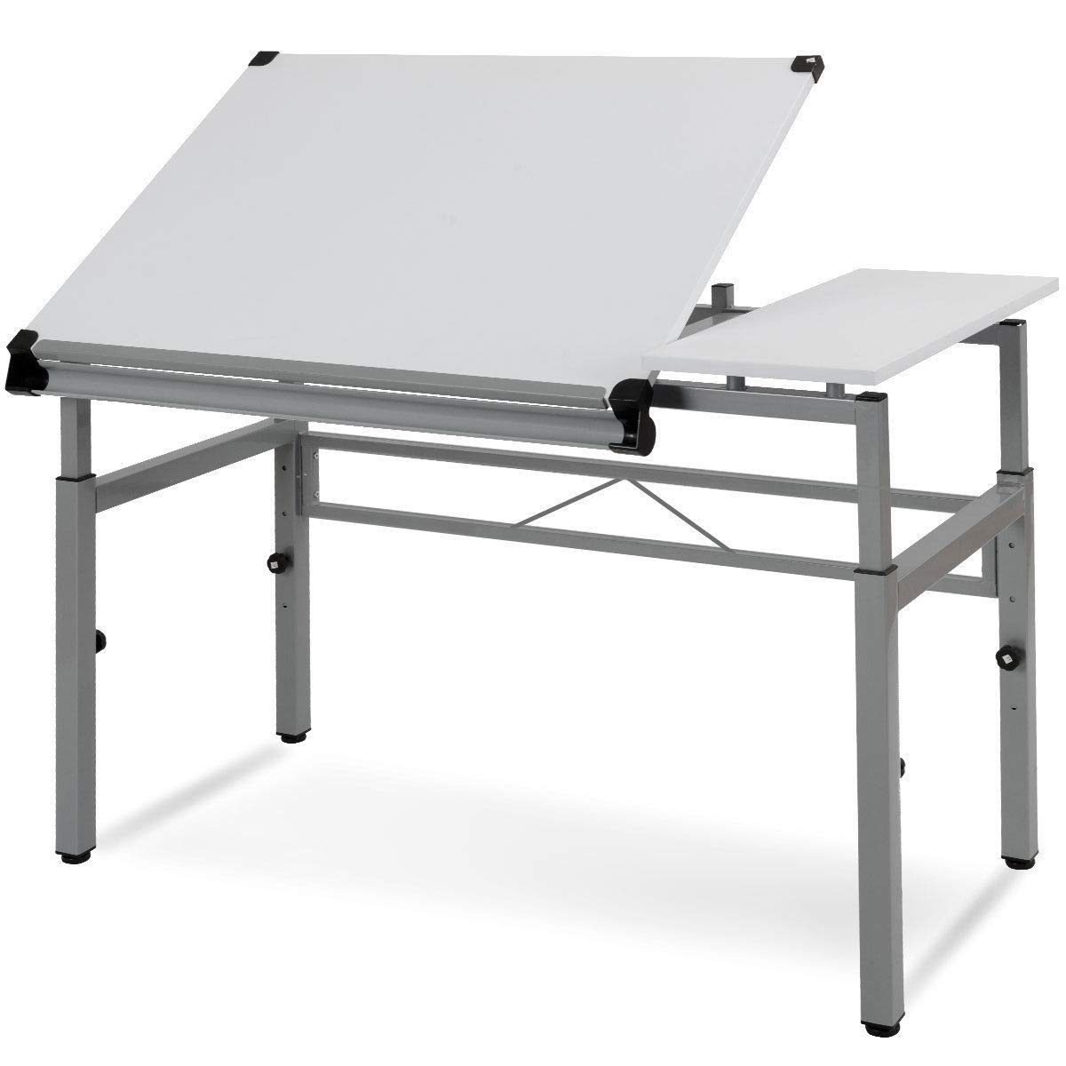 Seleq Adjustable Steel Frame Drawing Desk Drafting Table by Seleq (Image #1)