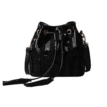 6f12407aa087 Amazon.com  GMYANDJB Fashion Luxury Designer Tassel Drawstring ...