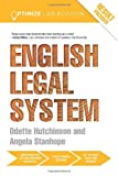 Optimise English Legal System, Angela Stanhope and Odette Hutchinson, 0415702291