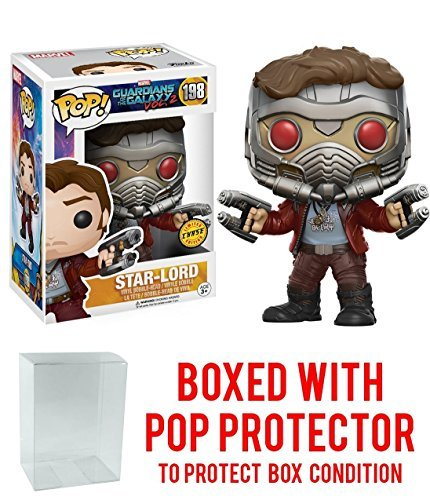 Limited Edition Rocket (Funko Pop Marvel: Guardians of the Galaxy Vol. 2 - Star Lord Chase Variant Limited Edition Vinyl Figure (Bundled with Pop Box Protector Case))