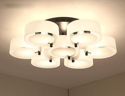 ZHDC® Deckenleuchten, Wohnzimmerleuchten modern Einfache ...