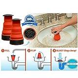 Amaping Kitchen Bathroom Toilet Plunger Clog Plumber High Pressure Plunger Air Blaster Sink TPR Drainage (Kitchen bathroom drainage)