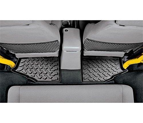 Jeep Molded Floor Mat Liner Rear Black