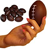 Dozen Foam Mini Football Stress Balls by Wilde Tyke (TM)