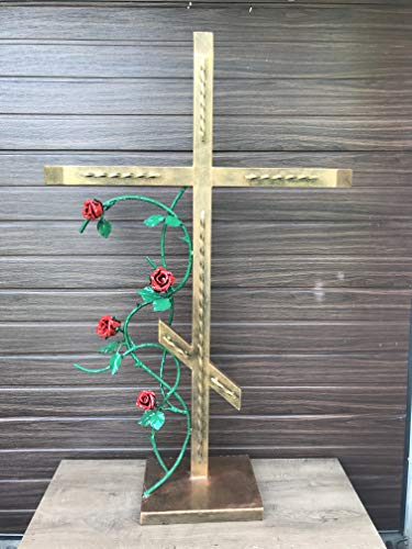 - Cross for grave, grave marker, funeral, remembrance gift, memory cross, in memory gift, memorial gift, grieving gift, memorials, cemetery