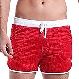 SUNVP Men's Athletic Mesh Shorts
