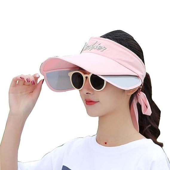 Nuevas señoras protección UV Sombrero para el sol Gorra de playa ...