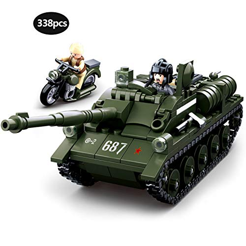 Aquaman Store Blocks - Military Series WW2 Half Tracked Personnel Carrier Battle of Stalingrad Panzer IV Building Blocks Toy for Children Gifts 1 -