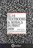 El-Hi Textbooks and Serials In Print, 2009, , 0835249840