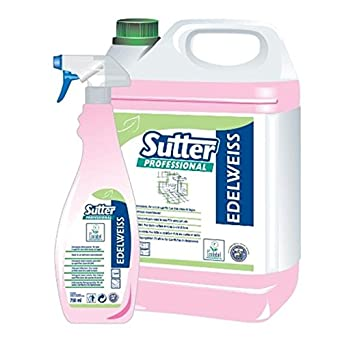 Cleaner Bathroom Sanitizing Ecolabel Sutter Edelweiss 750 Ml Air