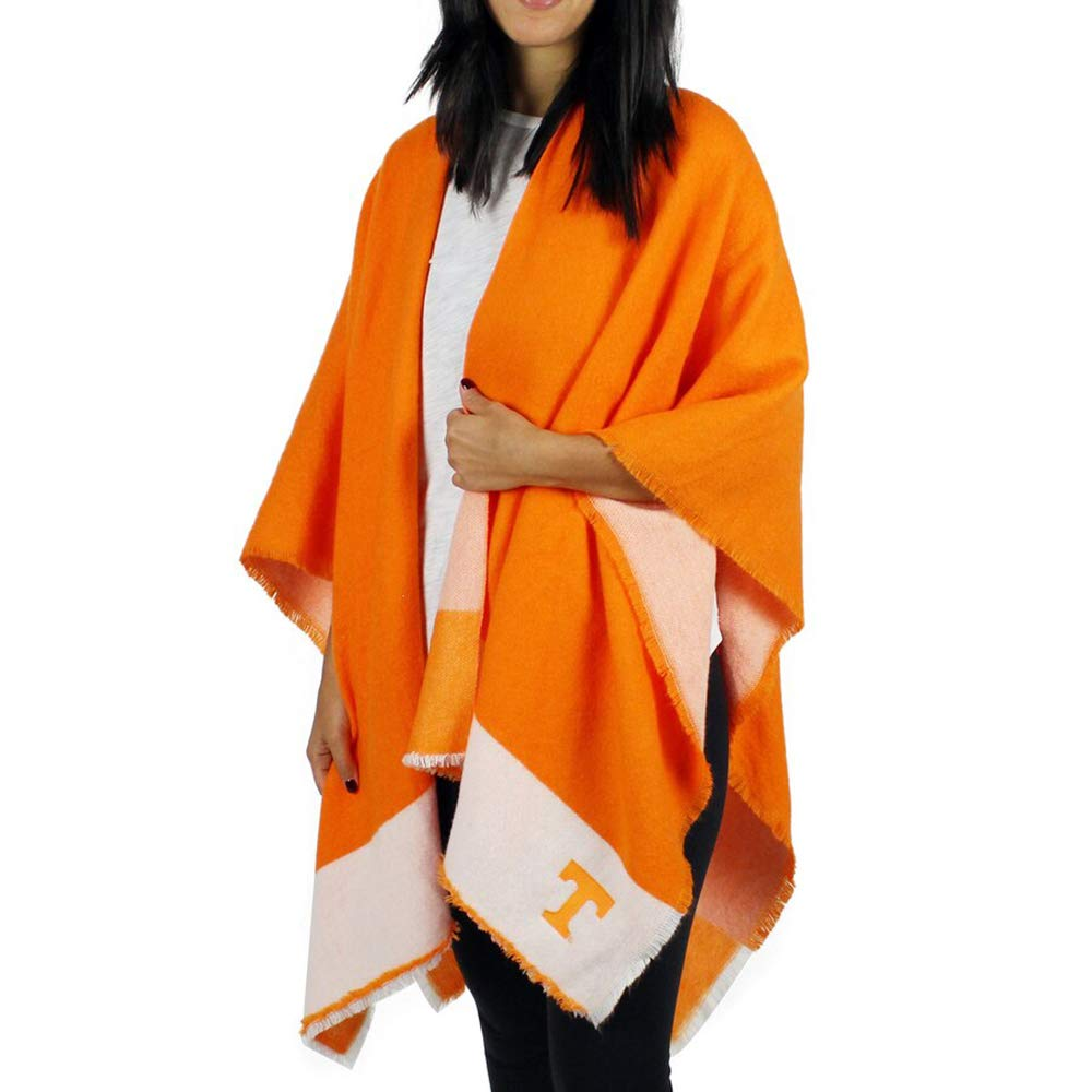 Zoozatz Large Plaid Winter Sideline Wrap Scarf for Women, Warm and Cozy Tartan Pattern Shawl-Style