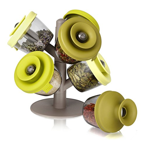 Vacu Vin PopSome Herbs and Spices with 2 Tree Stands, Set of 6 2843660