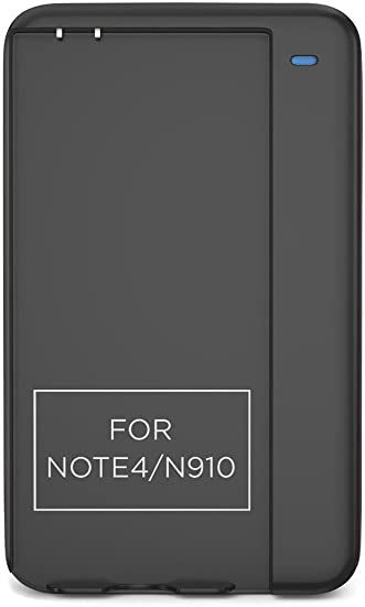 low priced 01f06 0e2f8 PowerBear Note 4 Battery Charger (Battery Not Included) Intelligent  External Battery Charger Cradle for Samsung Galaxy Note 4 Batteries with  Built-In ...