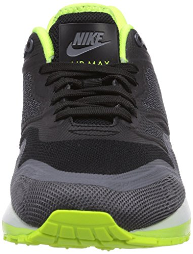 Nike  Air Max Lunar1 - Zapatillas de running para Mujer Mehrfarbig (Black/Dark Grey-Volt-Pr Pltnm)