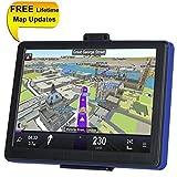 TSWA Navigation System for Cars, 7 inch 8GB Lifetime Map Updates Car GPS Spoken Turn-to-turn Vehicle GPS Navigator