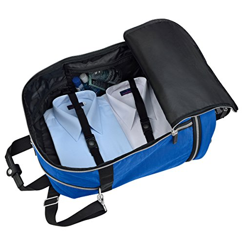 "Biaggi ZipSak 22"" MicroFold Carry On Duffle One Size, Cobalt"