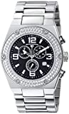 Swiss Legend Men's 40025P-11 Throttle Analog Display Swiss Quartz Silver Watch