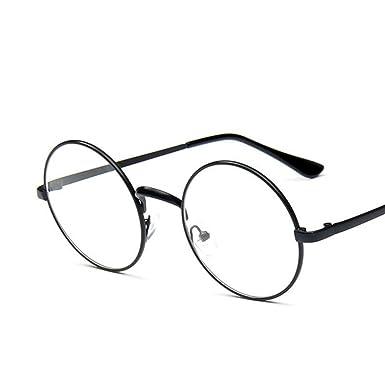 OULII Mode unisexe lunettes de soleil UV Protection lunettes Vintage pour la plage (argent lentille) PYmnC0