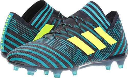 Adidas Kids Unisex Asso 17.4 Fxg Soccer (little Kid / Bid Kid) Inchiostro Leggenda / Giallo Solare / Blu Energia