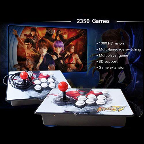 Retro Arcade Video Games Console - 2350 Games in Pandora Treasure 3D Box ,2 Players Joysticks Arcade Machine for Home, 1920x1080 HD Output(Double Console) by AOLODA (Image #1)