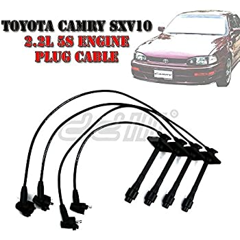 Ignition Lead Spark Plug Wire Cable 8mm Fit Toyota Camry SXV10 2.2L 5S Engine