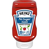 Heinz Tomato Ketchup, No Sugar Added, 13 Ounce (Pack of 6) (Packaging May Vary)