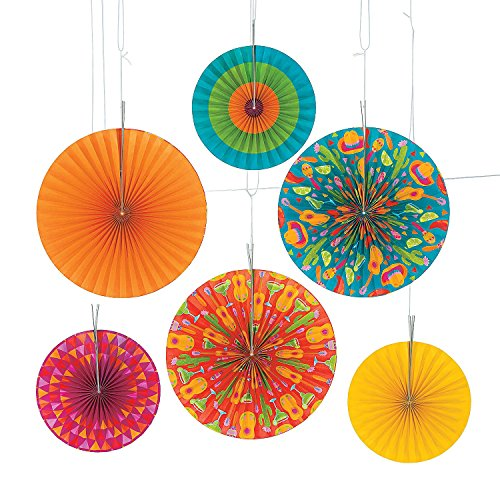 Fun Express Bright Fiesta Hanging