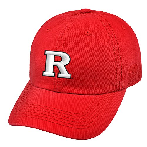 Rutgers Scarlet Knights Hat Icon Scarlet