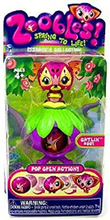 Zoobles Spring To Life Petagonia Collection Le Bun Figure #009 by Zoobles