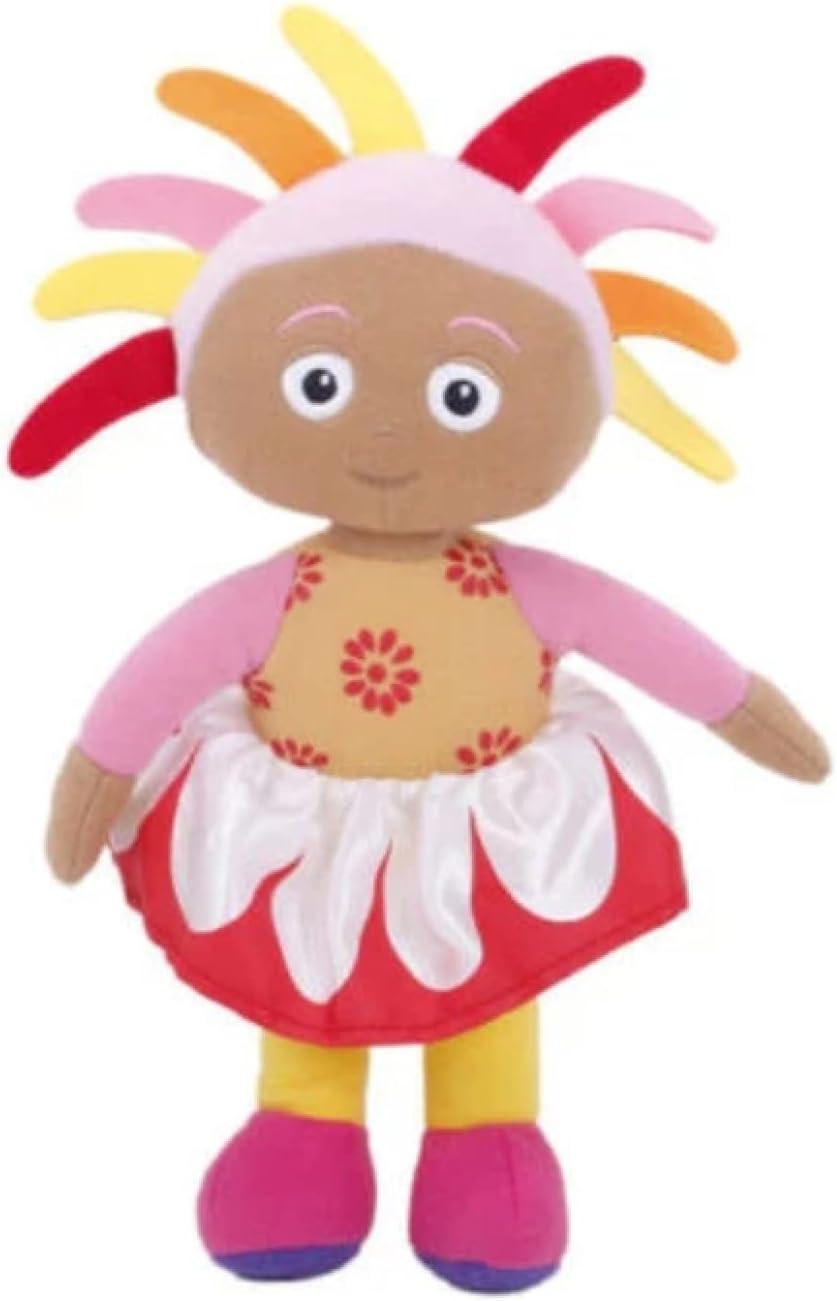 Linrunzi in The Night Garden Upsy Daisy Plush Toy Dolls, Cartoon Cute Soft Plushies, Stuffed Toys, Birthday for Children, 30Cm