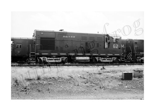 Kentucky & Indiana Terminal diesel locomotive #62 5x7 (Locomotive Terminals)