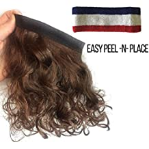 Mullet Headband Multi Purpose Removable Stick On Wig For All Costumes Make Everything Into A Mullet Wig Free Headband included!