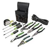 Greenlee 0159-13 Electrician's Tool Kit, Standard