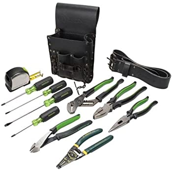 Greenlee 0159 13 Electricians Tool Kit Standard