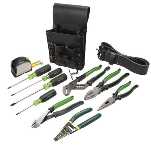 Greenlee 0159-13 Electrician's Tool Kit, Standard