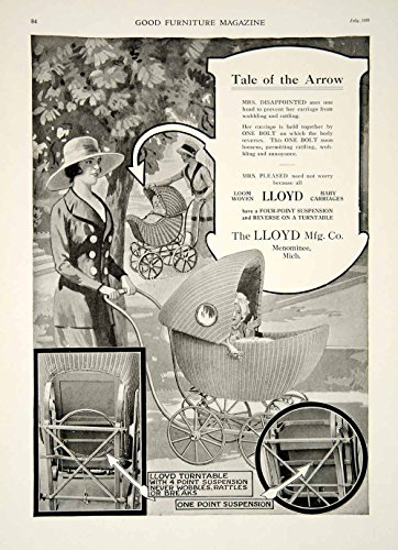 Antique Wicker Pram - 4
