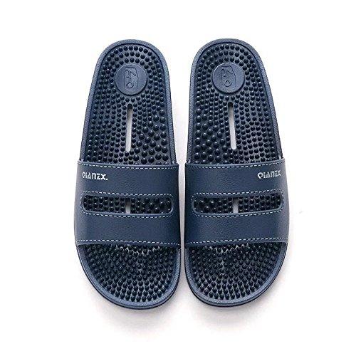 uomini e coppie fuori nbsp;Massaggio le e per pantofole bagno F cool 43 Fankou al 44 C female suola di antiscivolo acqua al soggiorno coperto del perdite di aqIfwHEE
